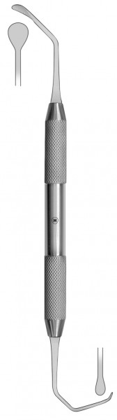 HSK 328-06, Sinus-Kürette