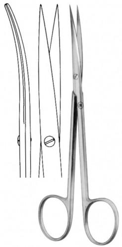 HSB 129-18, Präparier- und Nahtschere